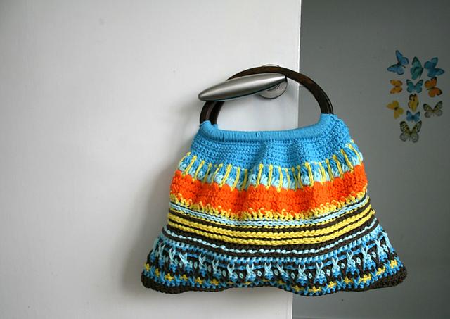 Ravelry Wooden Handle Crochet Purse Pattern 172 Pattern By Luz Mendoza