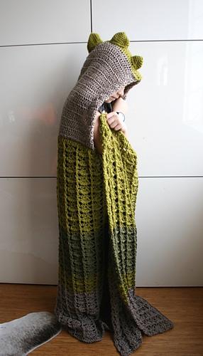 Dinosaur Blanket 257 Pattern By Luz Mendoza Ravelry