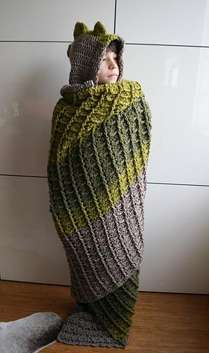 c86eba7682 Ravelry  Dinosaur blanket 257 pattern by Luz Mendoza