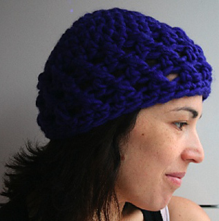 af07804e522 Ravelry  Crochet super chunky teens and ladies cap pattern by Luz Mendoza