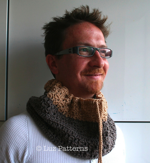 Ravelry Men Cowl Pattern By Luz Mendoza