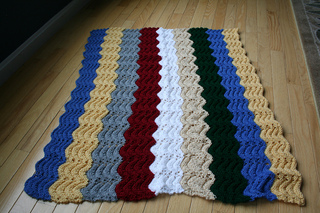 Ravelry All Purpose Knitted Afghan Pattern By Project Linus