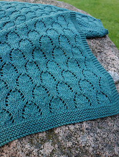 Baby Chalice Blanket pattern by Karen S. Lauger