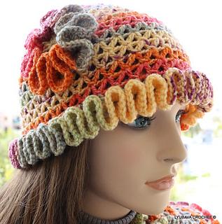 f4009bb3b24 Ravelry  Women s Hat With Flower