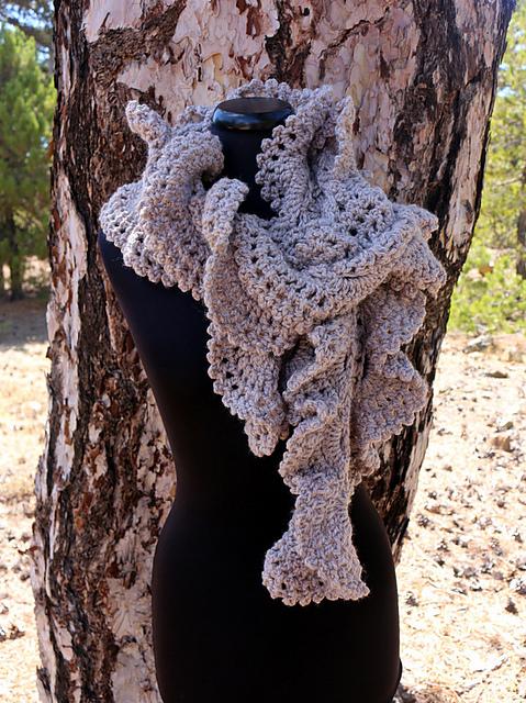 Ravelry Bundles Chunky Scarves Patterns By Lyubava Crochet