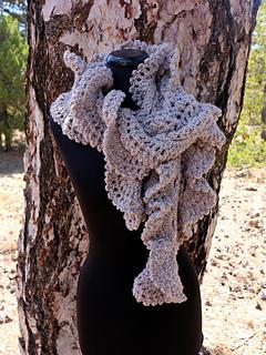 Chunky Ruffle Scarf Troodos Pattern By Lyubava Crochet Ravelry