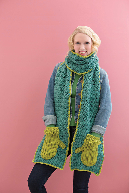 Ravelry Handy Pocket Scarves Patterns