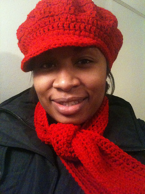 Ravelry Newsboy Hat Pattern By Marcelles Creative Crochet