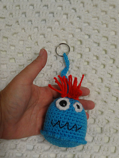 Ravelry Monster Keyrings Bag Tags Pattern By Michelle