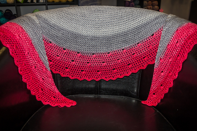 Knitted And Crocheted Samples Displayed In Our Store