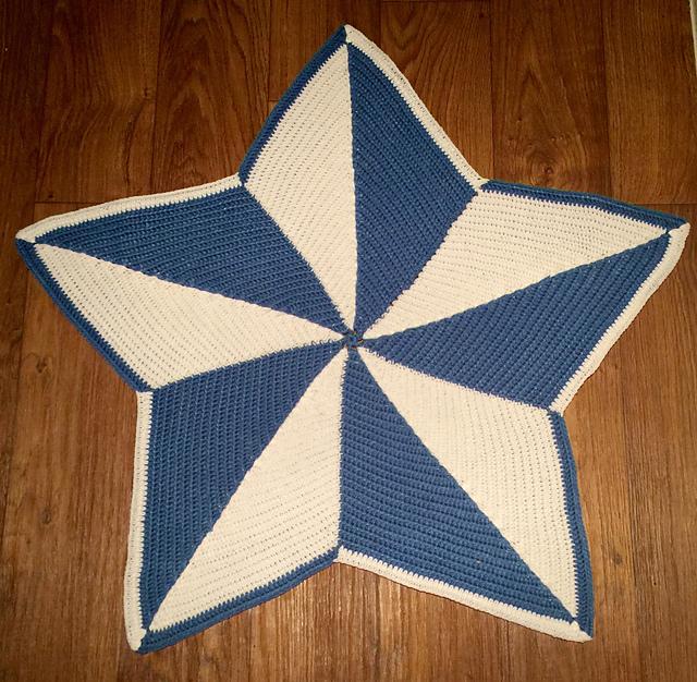 Ravelry Geometric Star Blanket Pattern By Mad Fruit