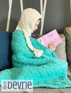 Ravelry hooded elsa blanket pattern by madebydevrie madebydevrie fandeluxe Images