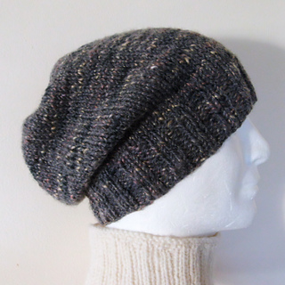 Ravelry  CHARLEY Simple Slouchy Beanie Knit Straight pattern by Made on  Location 167ad9e67b5