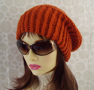 59458f86ed505 Ravelry  Bradley Slouchy Beanie Ribbed Brim Knit Straight pattern by Made  on Location