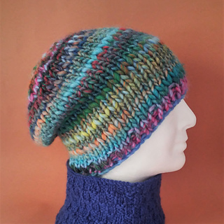 ef9cf589 Ravelry: CHARLEY Chunky Slouchy Beanie pattern by Made on Location
