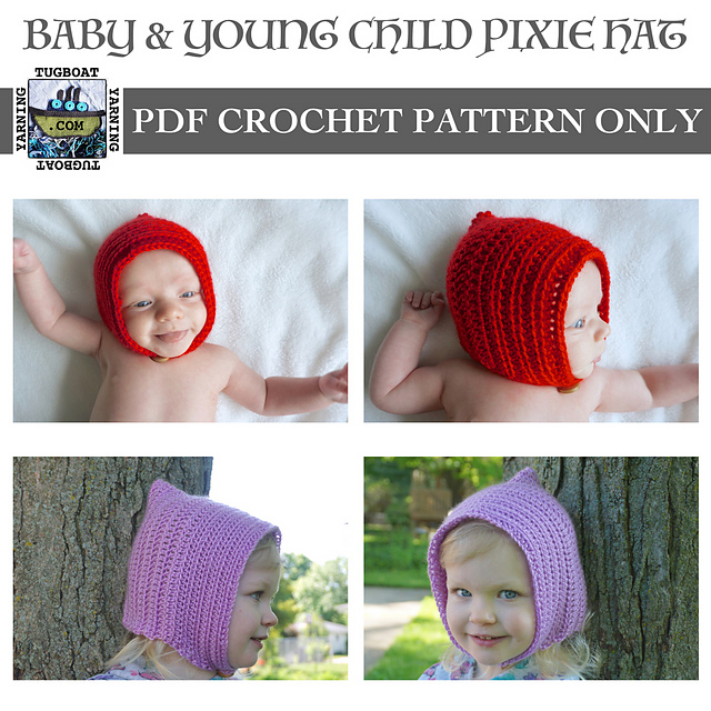Ravelry Baby Young Child Pixie Hat Pattern By Maggie Haveman Gould