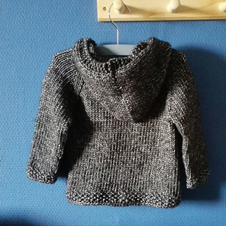 96569e7024f1 Ravelry  Seamless Baby Hooded Pullover pattern by Maggie van Buiten
