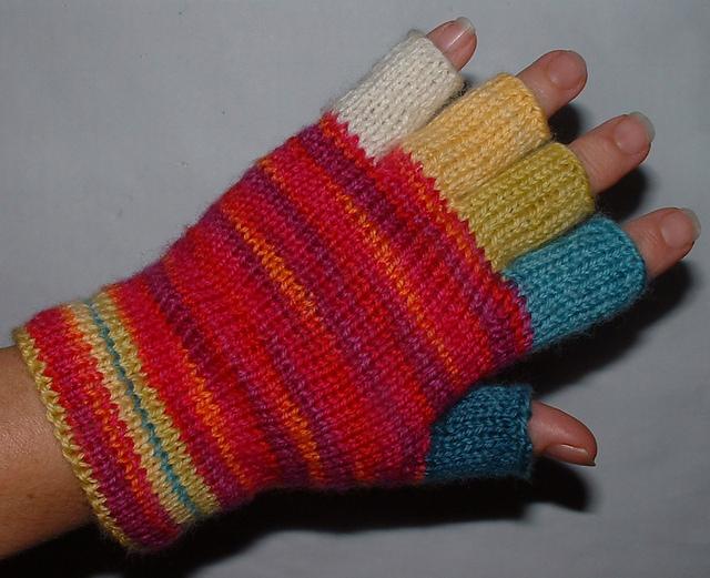 Ravelry Half Finger Glove Pattern By Margaret Radcliffe