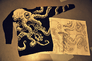 Embrace Octopus Sweater  pattern by Maia E. Sirnes