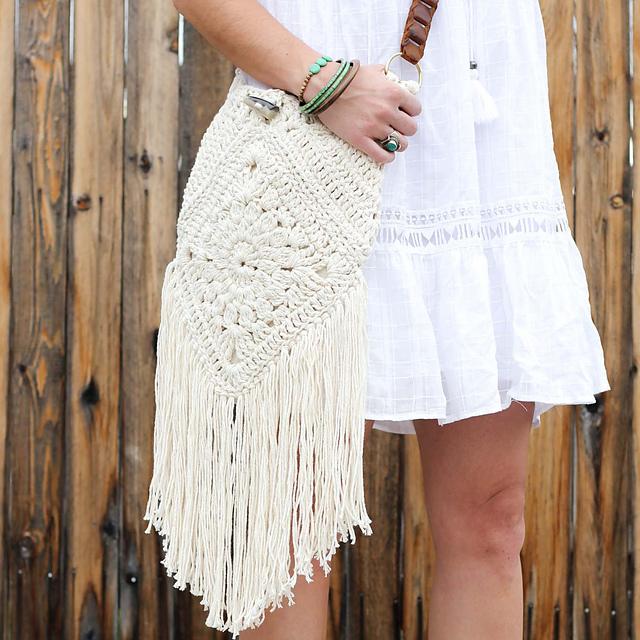 Ravelry Urban Gypsy Boho Bag Pattern By Jess Coppom
