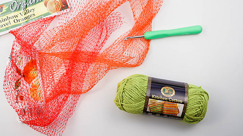 3f1555770ea4 Ravelry  Upcycled Produce Bag Pot Scrubbers pattern by Jess Coppom