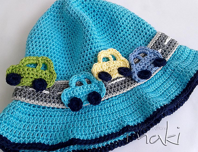 Ravelry On The Road Baby Hat Pattern By Makicrochet