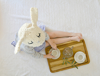 Ravelry: Boutique Bunny Hat pattern by Jessica Reeves Potasz