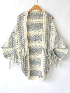 Ravelry  Light Frost Blanket Sweater pattern by Jessica Reeves Potasz f0dd8471a