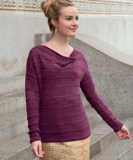 Ravelry Le Cirque Cowlneck Sweater Pattern By Melissa Wehrle
