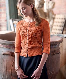 4b133014a Ravelry  Lace Cardigan pattern by Simona Merchant-Dest