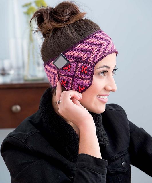 Ravelry: Secret Stash Fair Isle Headband pattern by Galina Carroll