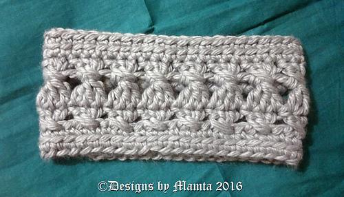 Ravelry: Chunky Cross Stitch Headband pattern by Mamta ...