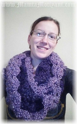 Ravelry Easy Shell Stitch Cowl Pattern By Mamta Motiyani