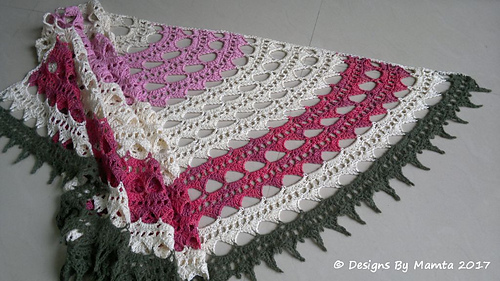 Ravelry: Sahasrara Shawl pattern by Mamta Motiyani