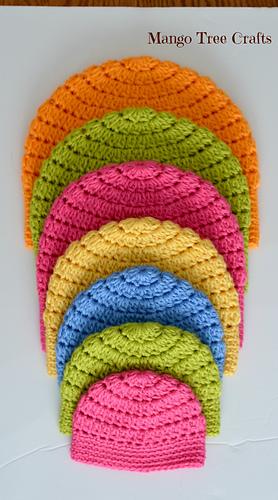 Ravelry Basic Crochet Beanie Pattern By Lilia Garashchenko
