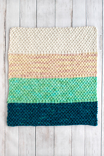3bb99650d82 Ravelry  Simple Bulky Moss Stitch Baby Blanket pattern by Fairmount Fibers  Design Team