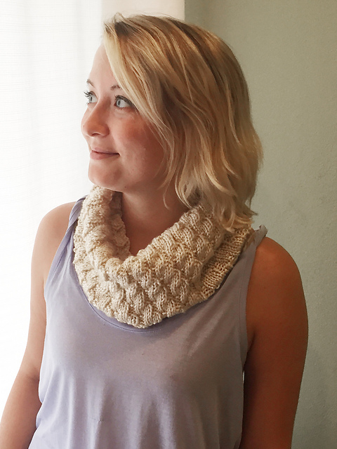 Ravelry Faux Cable Cowl Pattern By Margo Snyder