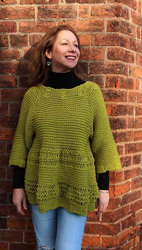 55efbca9731 Ravelry  Marylu Sweater pattern by Marianne Henio