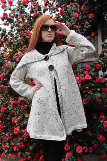 799bef33635 Ravelry  Hepburn Coat pattern by Marianne Henio