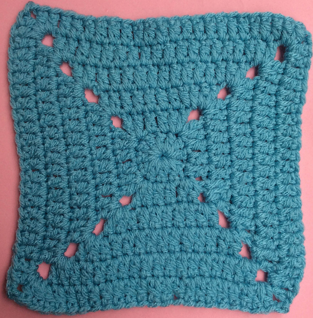 Ravelry: Double Crochet Granny Square pattern by Marie Segares