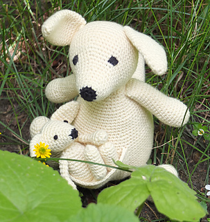 Ravelry: Suzy and Toby Kangaroo pattern by Marie Lize
