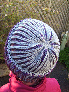 Brioche Beret Knitting Pattern : Ravelry: Brioche Basic Beanie pattern by Marilynn Blacketer