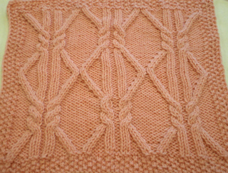Ravelry October Aran Afghan Square Woolen Collectibles Pattern By