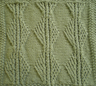 Ravelry May Aran Afghan Square Woolen Collectibles Pattern By