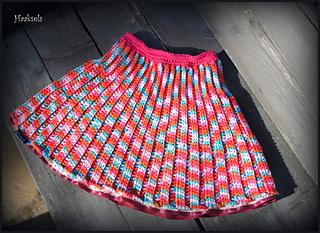 Ravelry Pleated Mini Crochet Skirt Pattern By Kinga Erdem