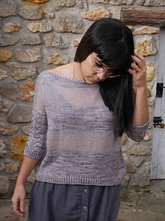 30abf0a41 Ravelry  Amali Sweater pattern by Marion Em Knits