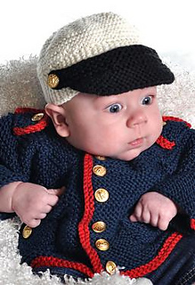 Ravelry Baby Boy Dress Blues Cardigan And Hat Pattern By