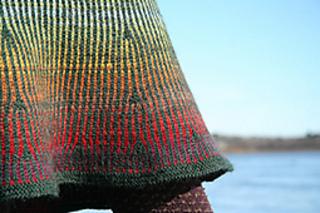 Fair Isle Skirt pattern by Mary Jane Mucklestone