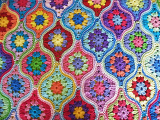 Ravelry Maryfairy S Mystical Lanterns Blanket