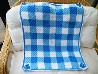 c254ea553bc Maryfairy Notebook Projects C2c Blue Gingham Baby Blanket For Teddy